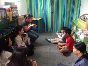 storytelling at the learning library