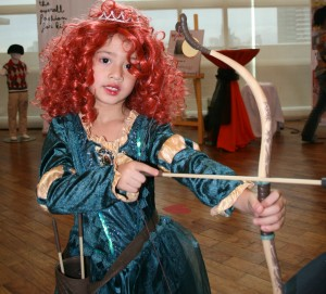 PRINCESS MERIDA DISNEY'S BRAVE HALLOWEEN COSTUME