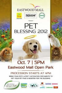 Eastwood Mall Annual Pet Blessing