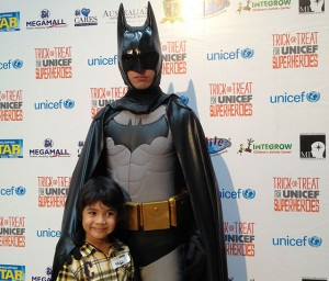 UNICEF Halloween Trick or Treat Launch at Megamall