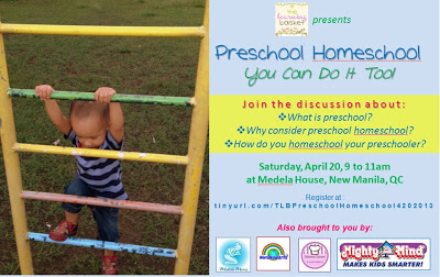 learning basket homeschool preschool seminar