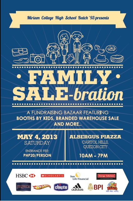 Family SALE-bration Poster