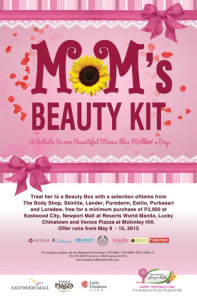 megaworld lifestyle malls mother's day beauty box