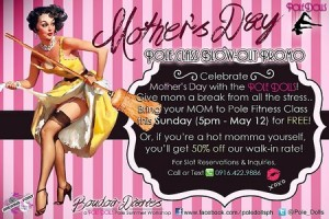 moms day pole dancing
