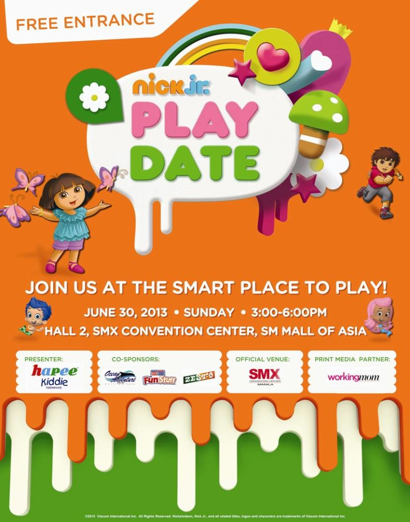 NICK JR PLAYDATE SMX CONVENTION CENTER