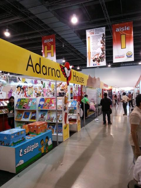 adarna booth at manila international book fair