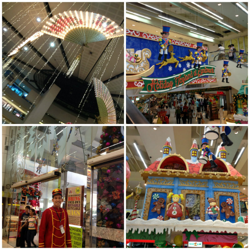 trinoma landmark christmas decorations 2013