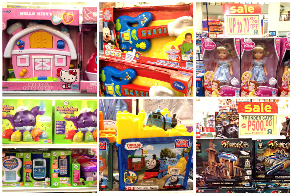 toys warehouse sale trinoma activity center