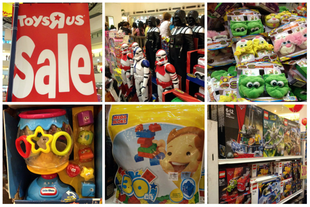toys r usphilippines  warehouse sale trinoma activity center