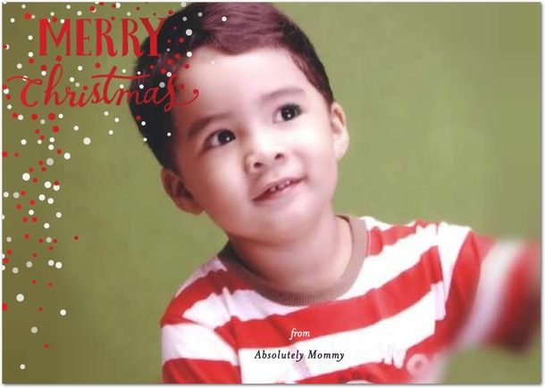 Absolutely Mommy Merry Christmas greeting