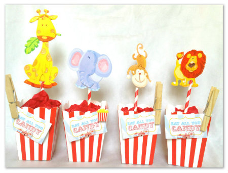 carnival party printables party in a box