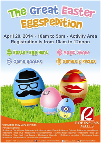 Easter Eggspedition Robinsons
