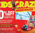 KIDSCRAZE WAREHOUSE SALE