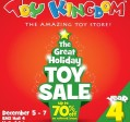 WAREHOUSE SALES - TOY KINGOM