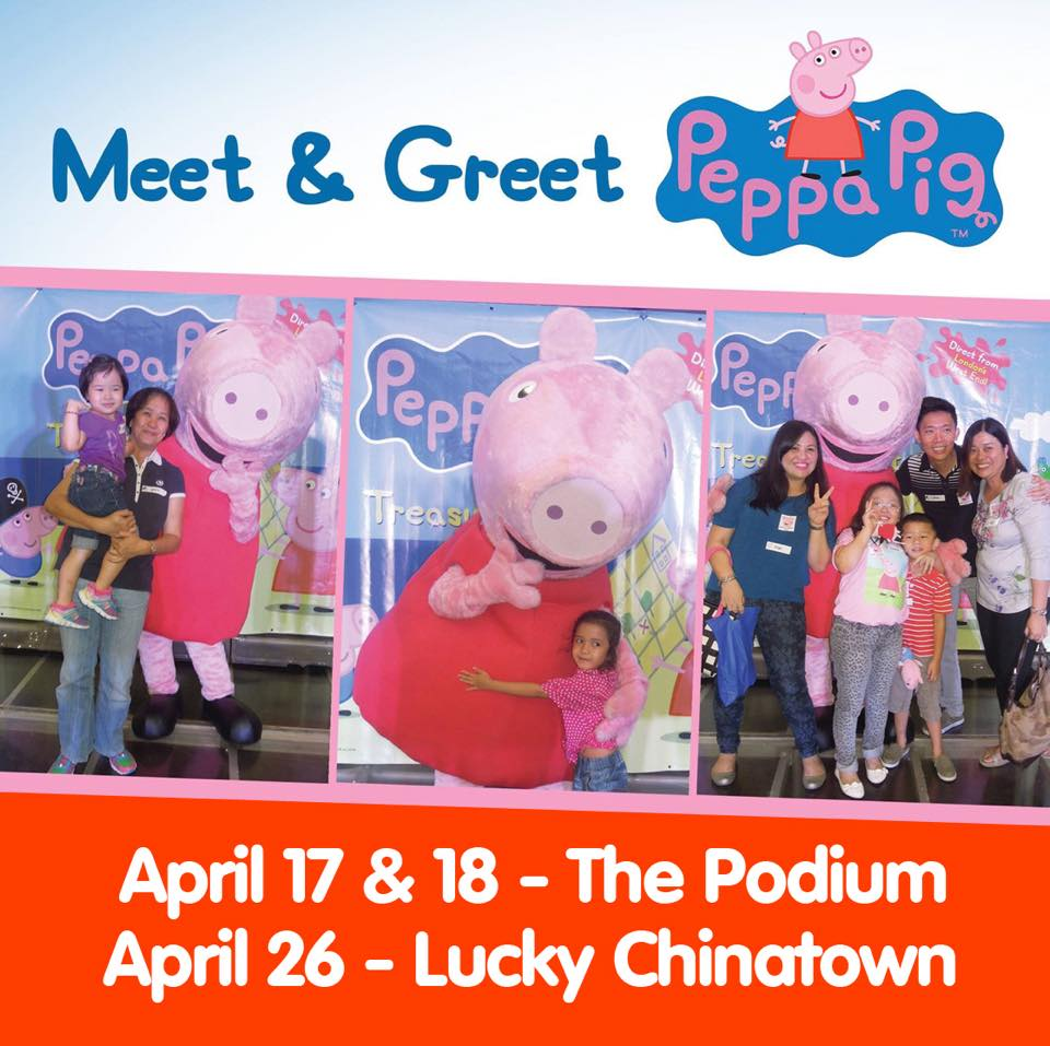 Meet Greet Disney Junior Characters Peppa The Pig Absolutely Mommy