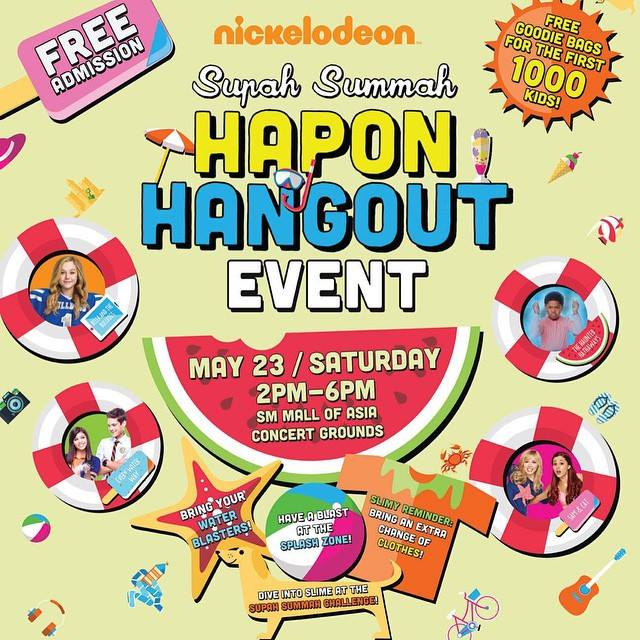 nickelodeon hapon hangout at mall of asia